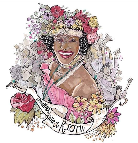 croadcore.org free to use image - Marsha P. Johnson